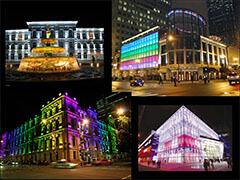 Презентация архитектурного освещения