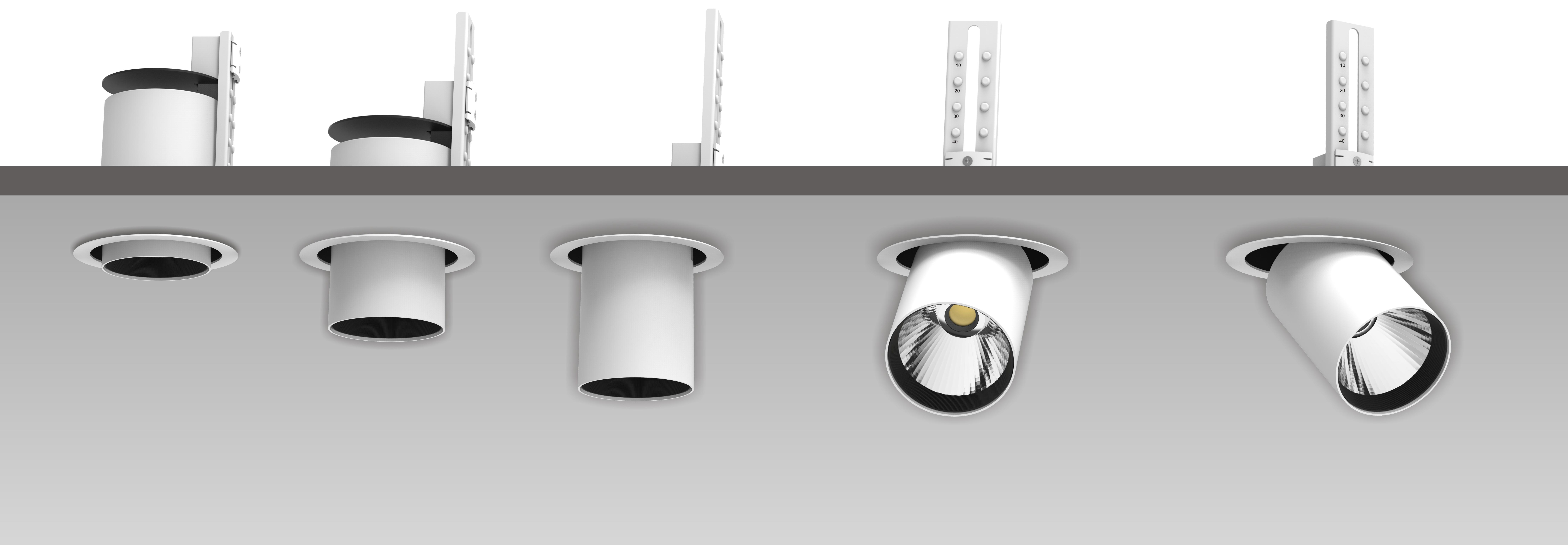 Светодиодный торговый светильник ACCORD RD