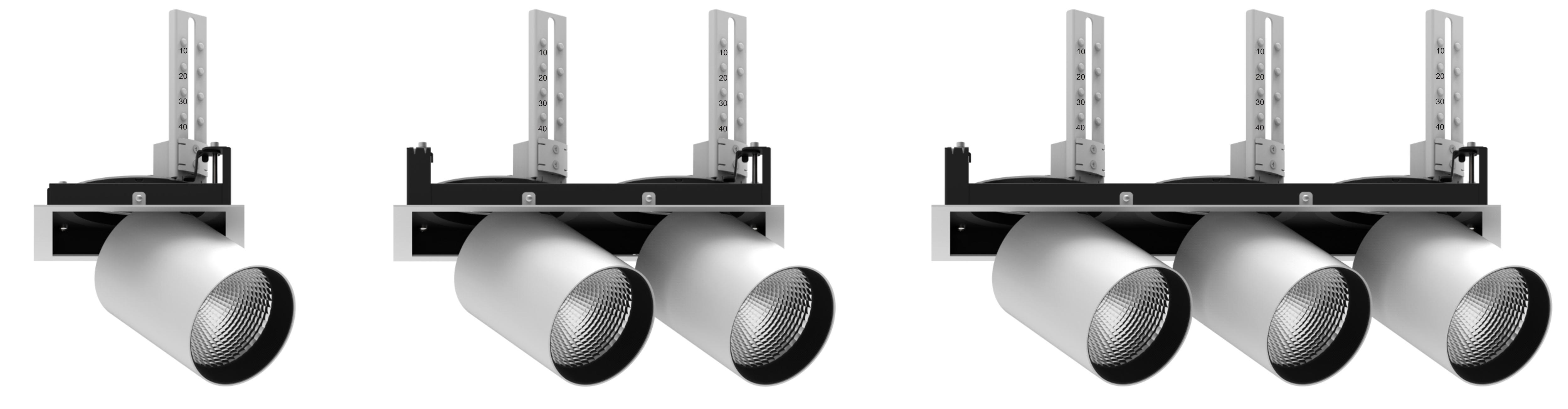 Светодиодный торговый светильник ACCORD SQ
