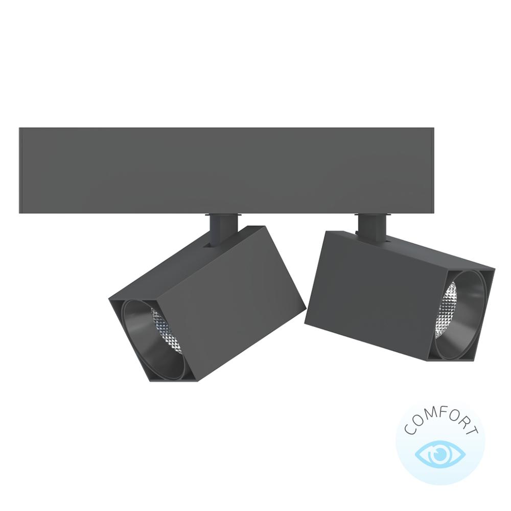 Светодиодный торговый светильник ENZO SQ 2