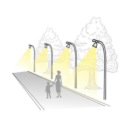 Парковый светильник GREEN ENGINE Тип L11